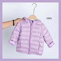 Детская куртка для девочки осень зима