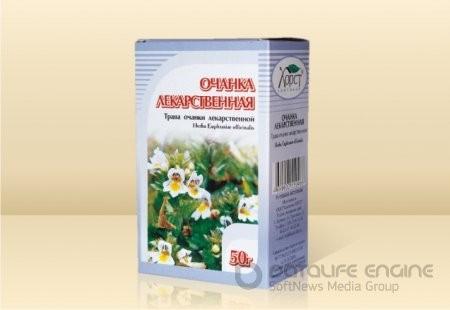 Очанка лекарственная, трава 50гр