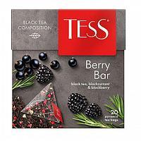 Чай TESS Berry Bar черный, пирамидки, 1,8гр*20пак
