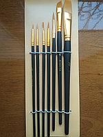 Набор кистей художественных для рисования Matisse Bomega синтетика 7 шт, Япония