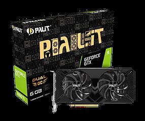 Видеокарта Palit GTX 1660 Ti  Dual