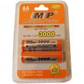 Аккумулятор ААA Модель: MP AA3000*2