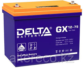 Аккумулятор Delta GX 12-75 (12В, 75Ач)