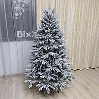 """Роскошная заснеженная литая елка """"Изумрудная"""" высотой 185 см"""