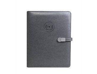 Ежедневник органайзер с зарядным устройством и USB