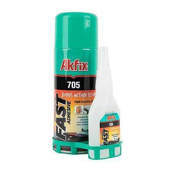 МДФ клей 200 мл+50 гр (Akfix)