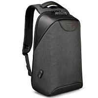 Рюкзак Tigernu T-B3611 с защитой от краж серый черный
