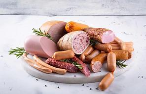 Уплотнение структуры мясных продуктов