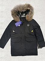 Куртка зимняя для мальчика, размеры 128-146