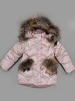 Куртка зимняя для девочки Delfin-free, размер 86-110