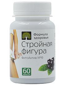 ФитоАктив №19, Стройная фигура, 60 капсул