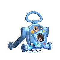 Многофункциональные детские ходунки 3 в 1 Космос