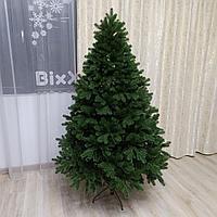 """Искусственная новогодняя ель с литыми ветками """"Королева леса"""" высотой 185 см"""