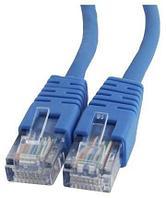 Патч-корд медный UTP Cablexpert PP10-1M/B кат.5e, 1м, литой, многожильный (синий)