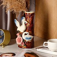 """Ваза настольная """"Лебеди"""", 26 см, микс, керамика"""