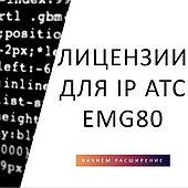 Лицензии для IP АТС eMG80