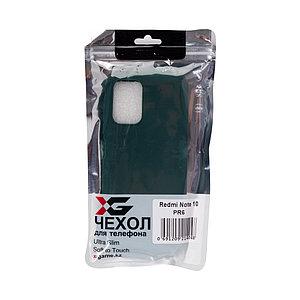 Чехол для телефона X-Game XG-PR6 для Redmi Note 10 TPU Зелёный
