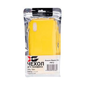 Чехол для телефона X-Game XG-PR72 для Redmi 9A TPU Жёлтый