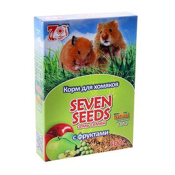Корм для хомяков Seven Seeds, с фруктами