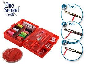 Набор чудо-игл для шитья One Second Needle 112 предметов.