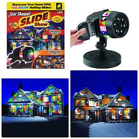 Лазерный проектор Slide Star Shower 12 слайдов.