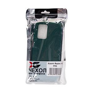 Чехол для телефона X-Game XG-PR5 для Redmi 10 TPU Зелёный