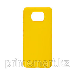 Чехол для телефона X-Game XG-PR78 для POCO X3/X3 Pro TPU Жёлтый