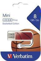 USB Флеш 8GB 2.0 Verbatim 098507 баскетбол