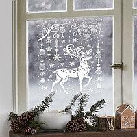 Наклейки для окон 'Волшебного Нового года', 30 x 50 см