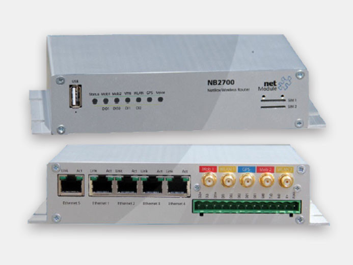 NetModule NB 2700-LW-G  (LTE и WLAN роутер с GPS)