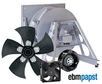 Вентиляторы ebm-papst