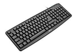 Клавиатура Trust ClassicLine Keyboard USB black (17192)
