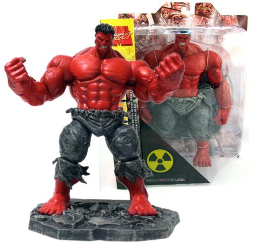 Diamond Marvel Select Red Hulk, Красный Халк