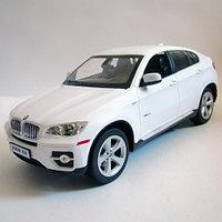 Радиоуправляемая машина RASTAR 1:14 BMW X6  белый, фото 1