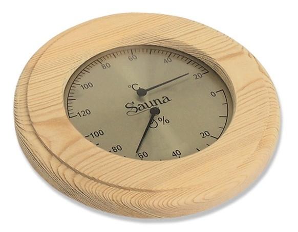 Термогигрометр круглый