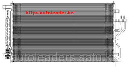 Радиатор кондиционера Kia Sportage 2010-2016