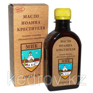 """""""Масло Иоанна Крестителя"""" - масло льняное с экстрактом зверобоя"""