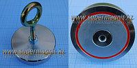 Поисковый неодимовый магнит на 300кг. f30042 (сила притяжения 300кг.)