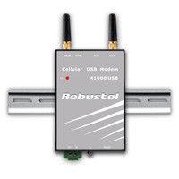 Модем Robustel M1000 XP3HA/3HB  (3G, авто 3G/GPRS-соединение, miniUSB, RS232 or RS485, RTC, Watchdog, Modbus,R