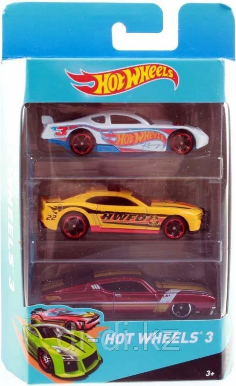 Подарочный набор Hot Wheels, 3 машинки