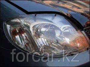 Защита фар  для COROLLA  Sedan 2000 - 2006, 2007 - 2009, прозрачная, фото 2