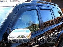 Дефлекторы окон SIM для Land Cruiser Prado 120/GX470, темные, на 4 двери