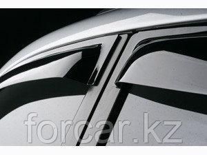 Дефлекторы окон SIM для Land Cruiser Prado 120/GX470, темные, на 4 двери, фото 2