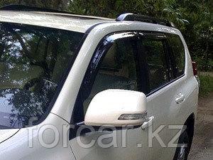 Дефлекторы окон SIM для  Land Cruiser Prado 150/GX460, темные, на 4 двери, фото 2