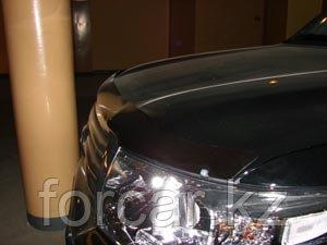 Дефлектор капота SIM для  Land Cruiser 200, темный