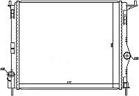Радиатор RENAULT SANDERO 1.4 /1.6 с кондиционером