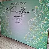 Пресс-стена, распечатка баннера, установка, фото 2