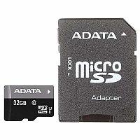 Карта памяти A-Data microSDHC 32GB UHS-I Class 10 (adapter SD) (AUSDH32GUICL10-RA1)