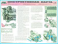 плакаты Инструктивные карты ЗИЛ, фото 1