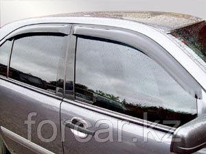 Дефлекторы окон SIM для E-Class W210 1995 - 2002, W211 2002 -2009, темные, на 4 двери, фото 2